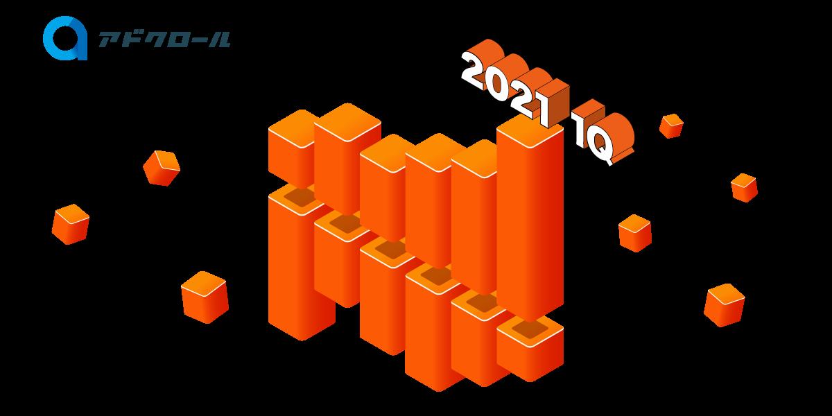 アドクロール FY2021 1Q(3~5月)も順調に成長!!